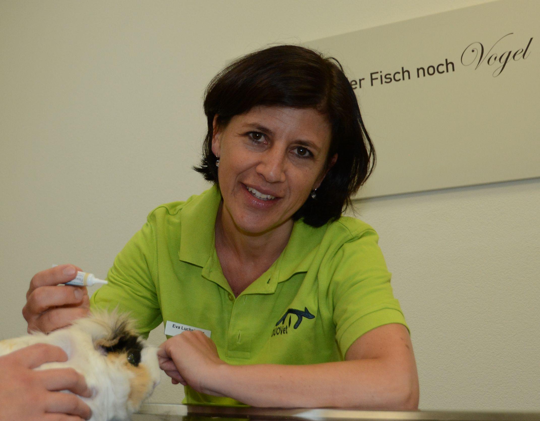 Eva Luchsinger, Inhaberin, Kleintierärztin Bern